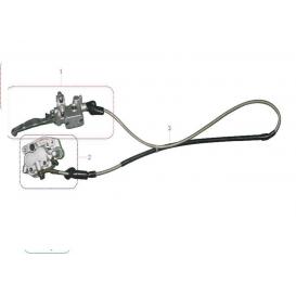 Brzdový systém přední  Xmotos XB37/XB39