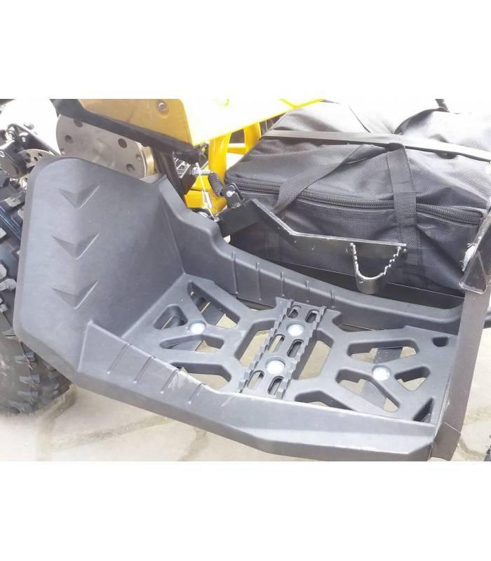 Elektro čtyřkolka Sunway Renegade 1000W s vozíkem Černo-zelená