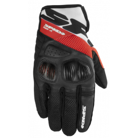 Gloves FLASH R EVO, SPIDI (black / red)