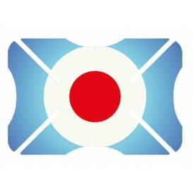 Protektor laku přilby Helmet Bumper Target, OXFORD - Anglie