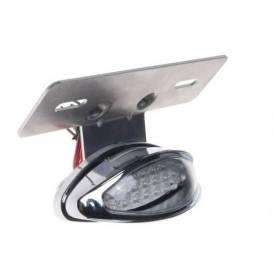 LED světlo zadní včetně držáku RZ (60°), RTECH - Itálie (černá)