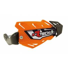 Lever covers FLX ATV, RTECH (orange, 4 variants in 1, incl. Mounting kit)