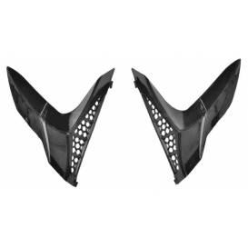 Zadné kryty ventilácie prilby X1.9 a X1.9D, ZED (čierne, pár)