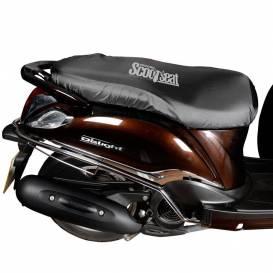 Plachta na sedla skútrov Scooter Seat Cover, OXFORD - Anglicko (čierna)