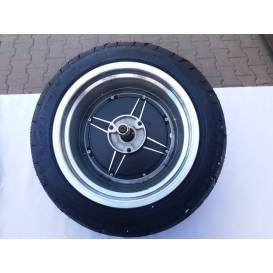 Rear wheel with motor for Tmax Scooter CE30 Cruisser 60V / 1000W