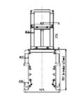 Přední tlumiče kompletní pro Tmax Scooter CE50/CE60 - 60V1500W