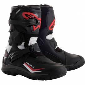 Topánky BELIZE Drystar HONDA kolekcie, ALPINESTARS (čierna / biela / červená)