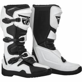 Topánky NEW Maverik, FLY RACING (čierna / biela)