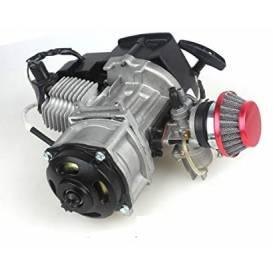 Motor 49c 2- takt s elektrickým startérem pro minicross a minibike