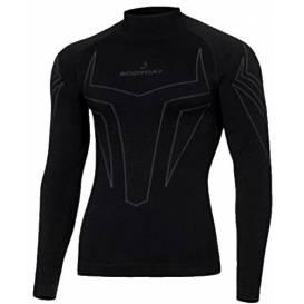 Bezešvé termoprádlo X-shock dlouhý rukáv, BODY DRY, pánské (černá)