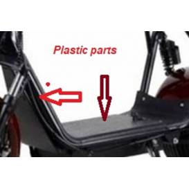 Plastová podlaha pro Tmax Scooter CE20