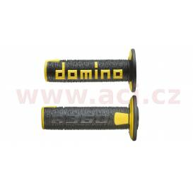 Grips A360 (offroad) length 120 mm, DOMINO (black-yellow)