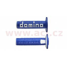 Grips A360 (offroad) length 120 mm, DOMINO (blue-white)