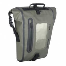 Tankbag na motocykl Aqua M8, OXFORD (khaki/černý, s magnetickou základnou, objem 8 l)