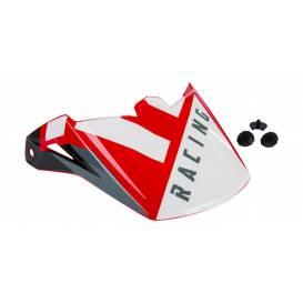 Kšilt pro přilbu ELITE, FLY RACING - USA (červená/černá)