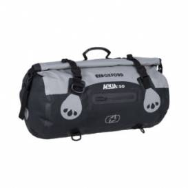 Waterproof bag Aqua T-50 Roll Bag, OXFORD (gray / black, volume 50 l)