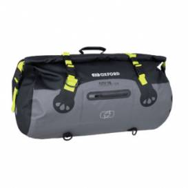 Waterproof bag Aqua T-50 Roll Bag, OXFORD (black / gray / yellow fluo, volume 50 l)