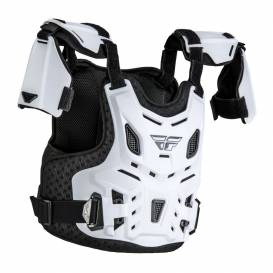 Revel Roost body protector, FLY RACING children's (white)