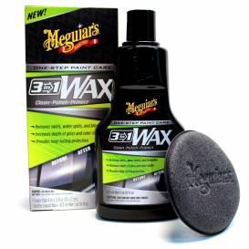 MEGUIARS 3v1 Wax - leštěnka s voskem, 473 ml