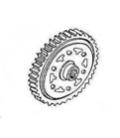 Ozubené kolo spojky 1 XB27