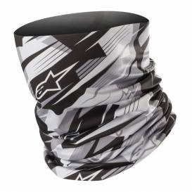 Nákrčník blurred NECK TUBE, ALPINESTARS (čierna / sivá)
