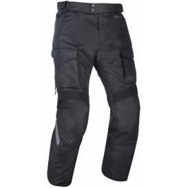 PRODLOUŽENÉ kalhoty CONTINENTAL, OXFORD (černé)