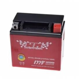 Baterie 12V, YTX5L-BS, 4Ah, WM Moto MF AGM 114x71x106