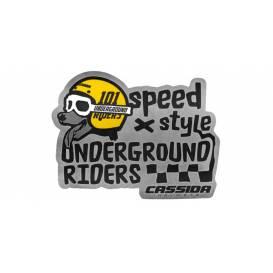 UNDERDOG sticker, 101 RIDERS
