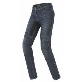 Nohavice, jeansy FURIOUS PRE LADY, SPIDI, dámske (tmavo modré, sprané)