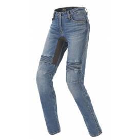 Nohavice, jeansy FURIOUS PRE LADY, SPIDI, dámske (modré, stredne sprané)