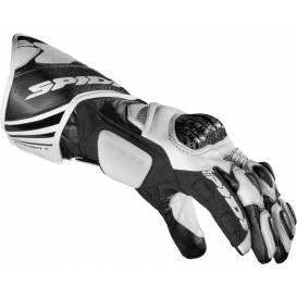 Rukavice CARBO 7, SPIDI (bílé/černé)