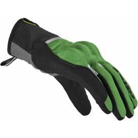 Rukavice FLASH CE, SPIDI (černé/zelené)