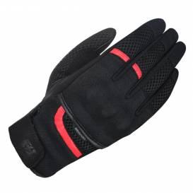 Rukavice BRISBANE AIR, OXFORD (černé/červené)