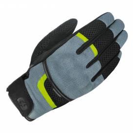 Rukavice BRISBANE AIR, OXFORD (šedé/černé/žluté fluo)
