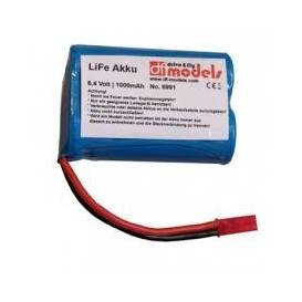 AKU LiFe 6,4V/1000 mAh T-plug