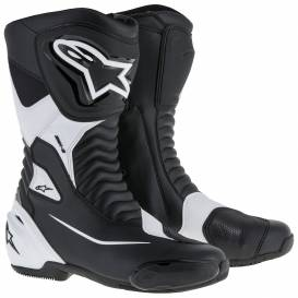 SMX-S shoes, ALPINESTARS (black / white)