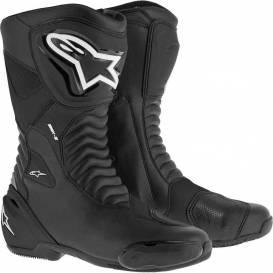 Boty S-MX 6, ALPINESTARS - Itálie (černé)