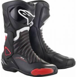 Topánky S-MX 6, ALPINESTARS (čierne / červené)
