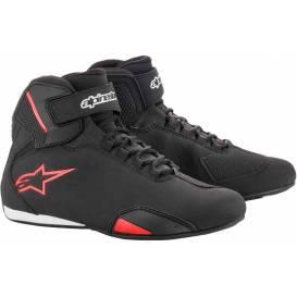 Topánky SEKTOR, ALPINESTARS (čierne / červené)