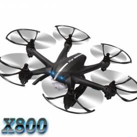Hexakoptéra X800 3G ovládání + FPV HD kamera C4010  - ČERNÁ