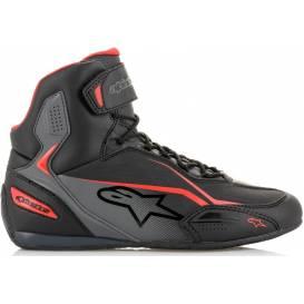 Topánky FASTER 3, ALPINESTARS (čierne / sivé / červené)
