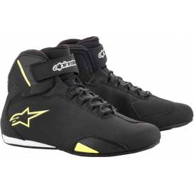 Shoes SECTOR, ALPINESTARS (black / yellow fluo)