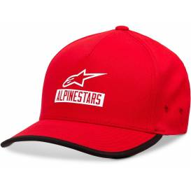 Cap PRESEASON HAT, ALPINESTARS (red)