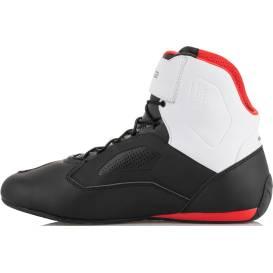 Topánky FASTER 3 RIDEKNIT, ALPINESTARS (čierne / biele / červené)