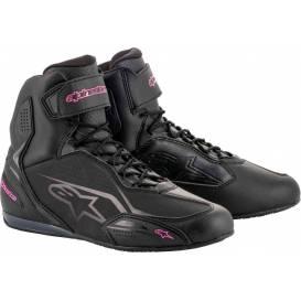 Topánky STELLA FASTER 3, ALPINESTARS, dámske (čierne / fialové)