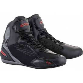 Shoes FASTER-3 DRYSTAR, ALPINESTARS (black / gray / red)