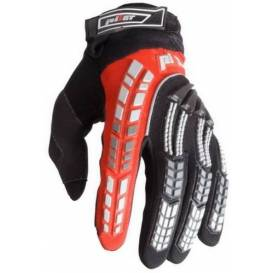PIONEER gloves, PILOT, children (black / red)