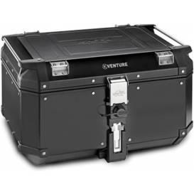 MONOKEY TopCase K-VENTURE - 58 l, KAPPA (černý, hliník, 55,5x32,3x45,4 cm)