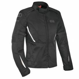 Jacket IOTA 1.0, OXFORD, women's (black / white)