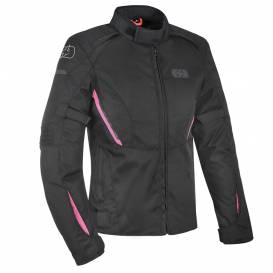 Jacket IOTA 1.0, OXFORD, women's (black / pink)
